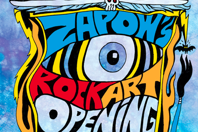 Rock and Roll art show to take over ZaPow! gallery starting Aug. 3