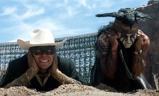 Don't listen to the haters. The Lone Ranger is a wonderful film. (Walt Disney Pictures)