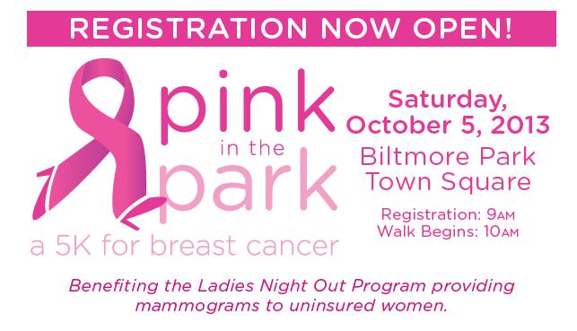 Registration open for Pink in the Park in Biltmore Park