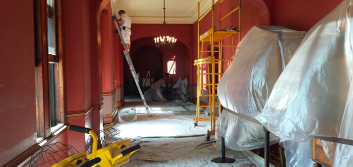 Biltmore Estate on Sept. 1 will open two rooms meticulously restored to 1895 glory