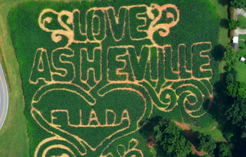 Eliada, Asheville Grown partner for annual corn maze in Asheville