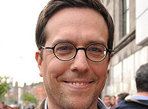 Asheville celebrity spotting: Ed Helms of 'The Office' spotted at High Five coffee bar in Asheville