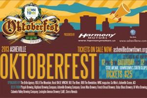 Tickets for asheville 39 s popular oktoberfest on sale monday for Harmony motors asheville nc