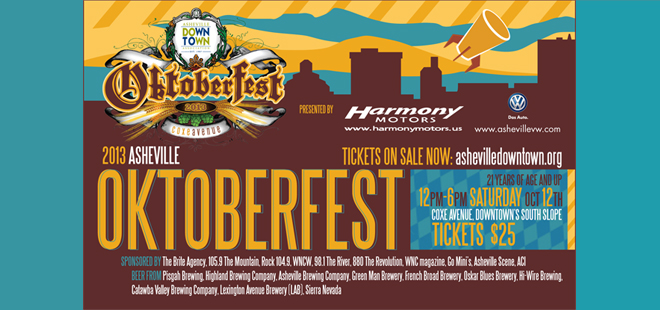 Win two tickets to Asheville Downtown Association's Oktoberfest party