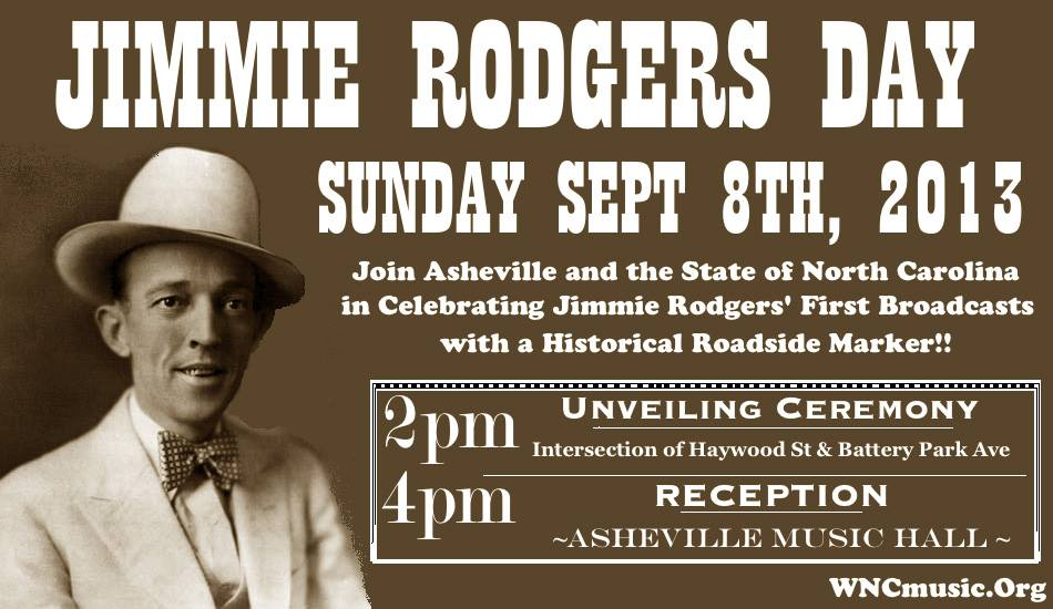 New historic marker to honor famed 'singing brakeman' Jimmie Rodgers and his Asheville ties