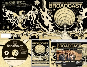 THE BROADCAST Dodge The Arrow Art Direction, Design & Illustrati