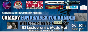 Asheville comedy community to bring Mo Alexander to The Isis for benefit show