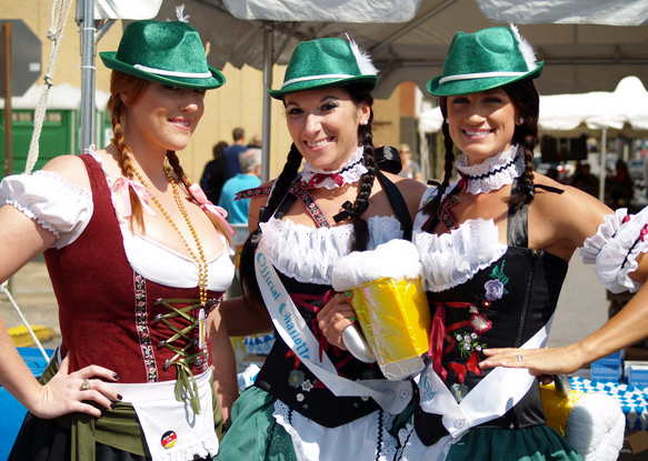 Oktoberfest in Kingsport on Saturday features several Asheville ties