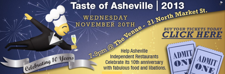 Taste of Asheville will feature 40 local chefs on Nov. 20 at The Venue