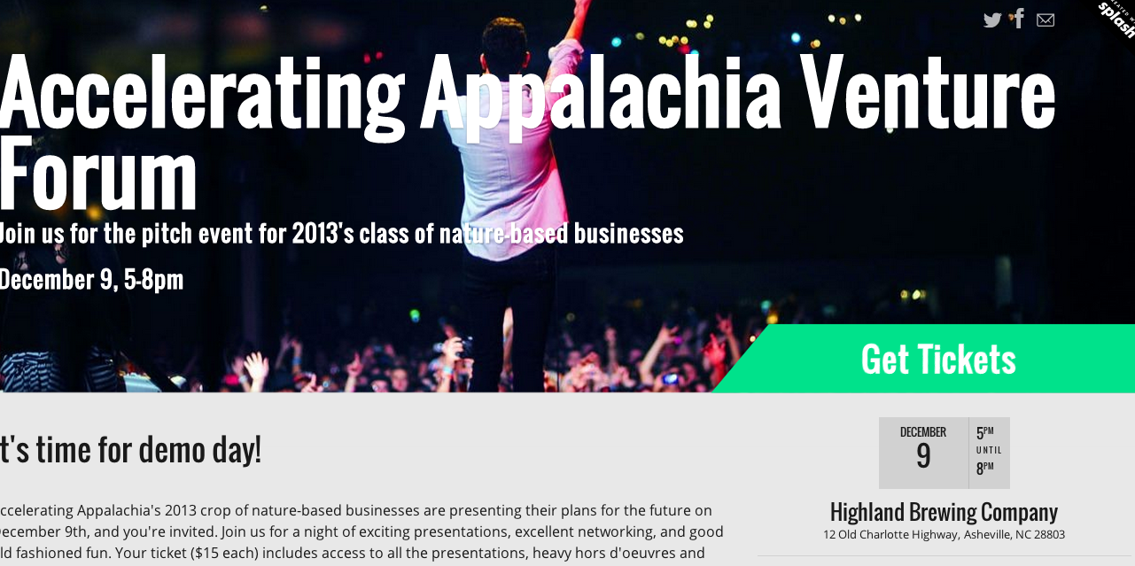 Asheville-area entrepreneurs set to pitch their ideas tonight at Accelerating Appalachia Venture Forum