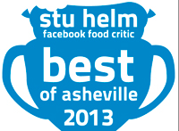 Stu Helm, Asheville's Facebook Food Critic: Stoobie Awards, part II