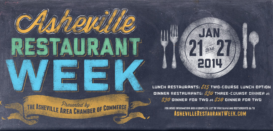 Asheville Restaurant Week set for Jan. 21-27