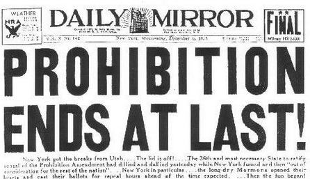 Three Asheville events celebrate Prohibition repeal anniversary on Thursday