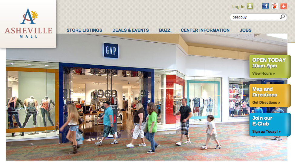 Asheville Mall's multi-million dollar makeover in advance of H&M opening