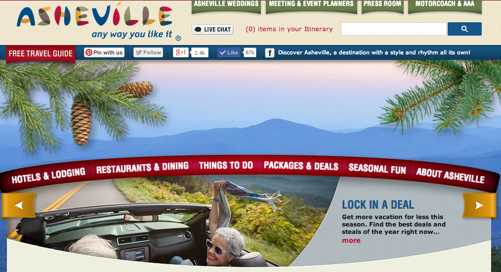 Asheville tourism officials hire Winston-Salem ad firm to market mountain metropolis