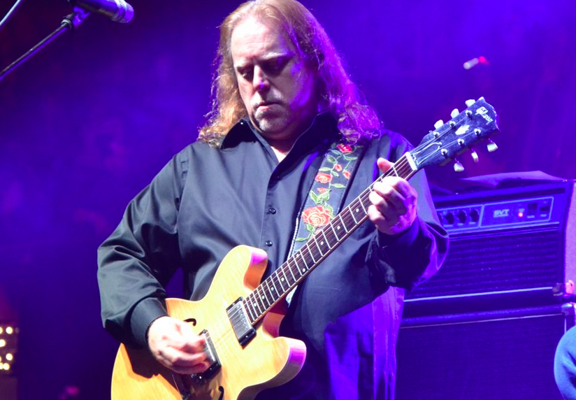 Warren Haynes at the 2013 Christmas Jam in Asheville/photo by Mary Juliano