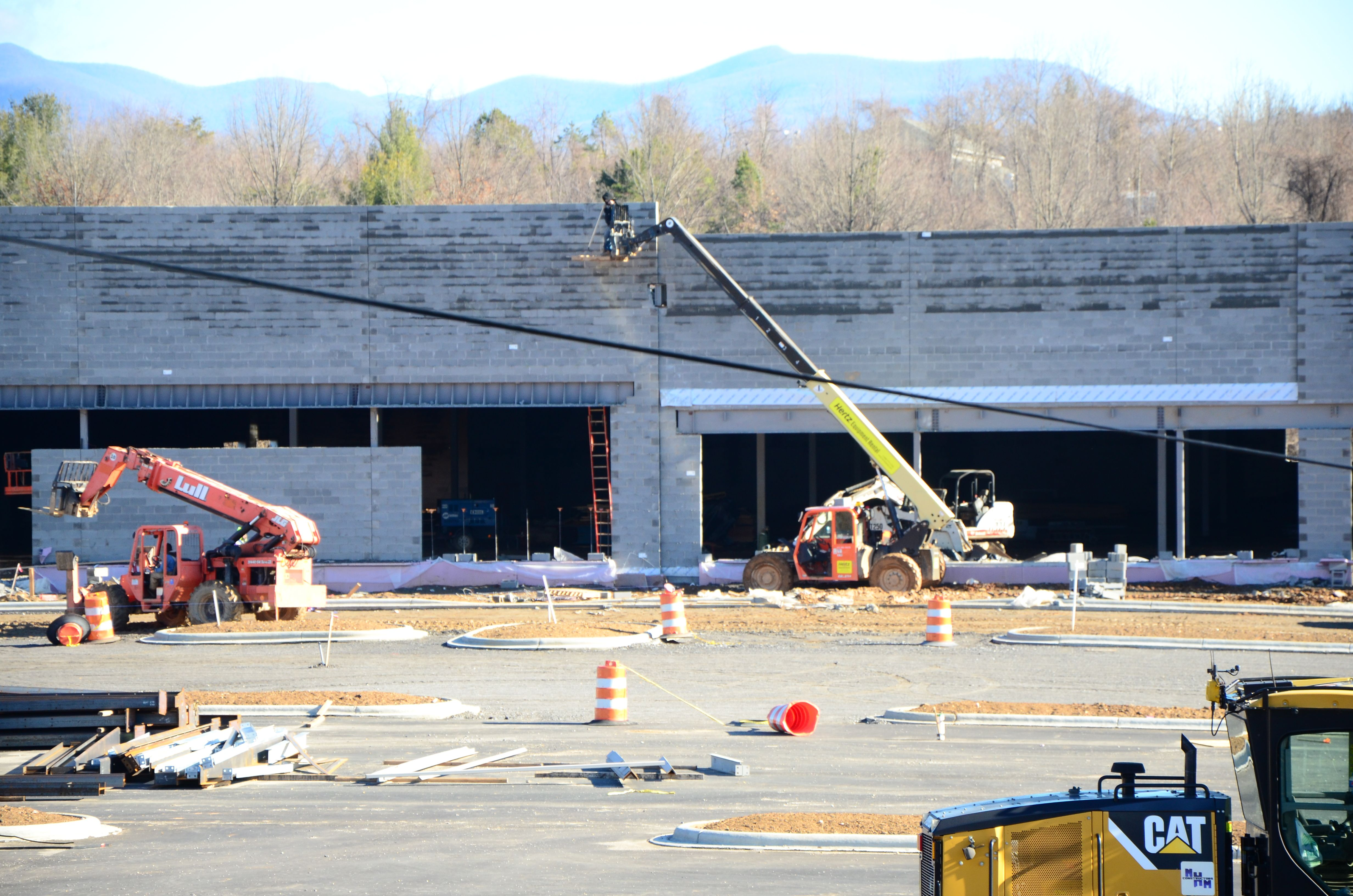 PHOTOS: New Belgium and Whole Foods construction sites in Asheville