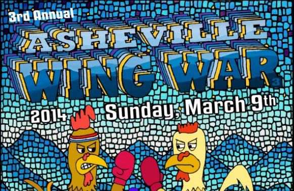 Asheville Wing War on Sunday will crown a 'King of the Wing'