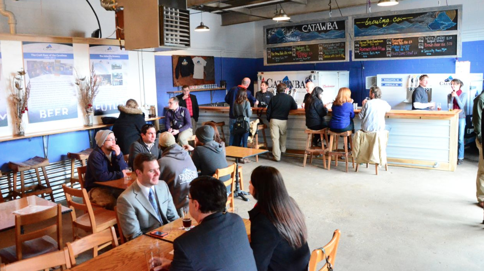 PHOTOS: Catawba Brewing's new Asheville tasting room, open today