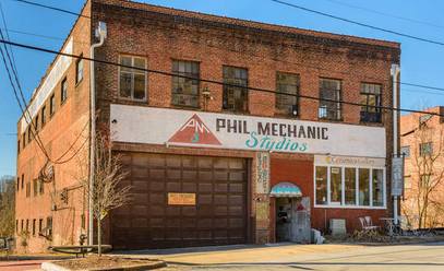 Word on the street: Phil Mechanic building in Asheville's River Arts District under contract to be sold