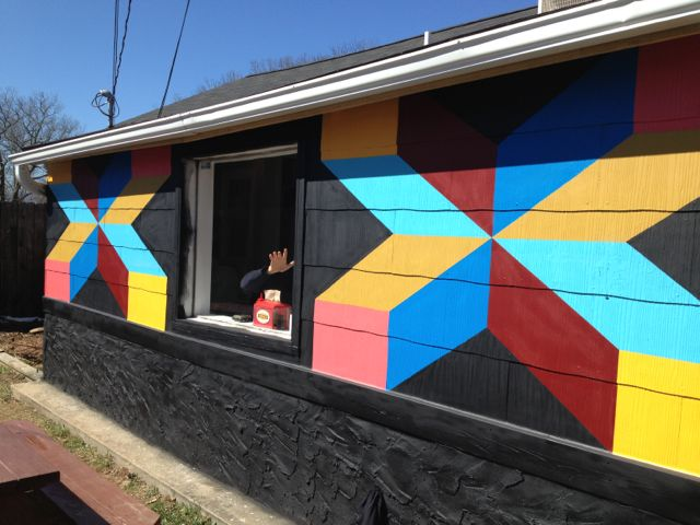 PHOTOS: Asheville Sandwich Shop mural by Gabriel Shaffer and Joshua Spiceland