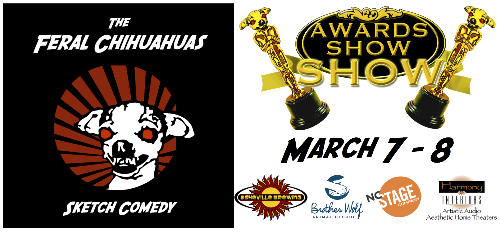 The Feral Chihuahuas celebrate 10 years of comedy in Asheville with shows March 7, 8