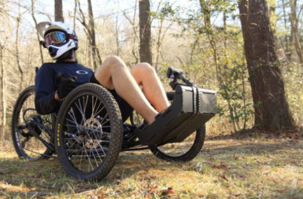 Crowdfunding projects: DoNation app, Horizon adaptable electric trike