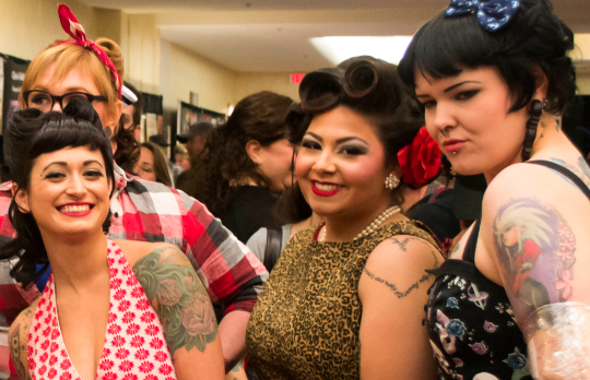 PHOTOS: Ashvegas After Dark snaps Asheville Tattoo Fest pin-up girl contest