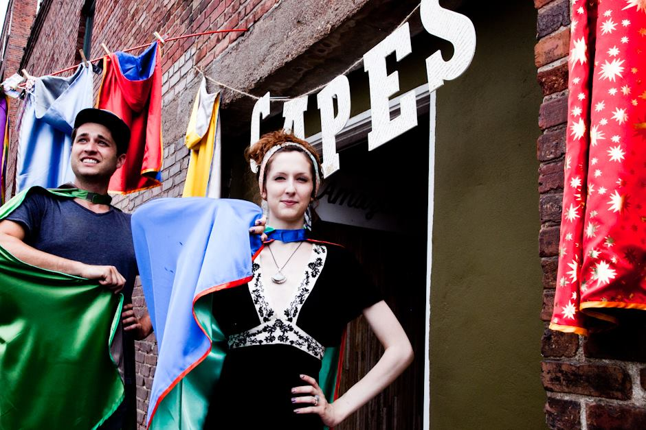 Need a cape for Moogfest 2014 in Asheville? The Amazing Capes pop-up shop's got you covered
