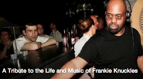 Tribute to Frankie Knuckles at Scandals in Asheville on Thursday