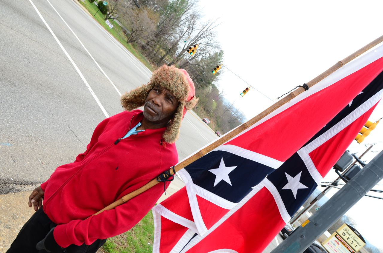 Edgerton, Asheville's Confederate flag activist, urges city to honor Confederate Heritage and History Month