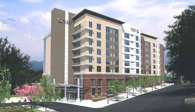 Asheville's downtown hotel building boom: site work for 1 underway, 4 more planned, others possible