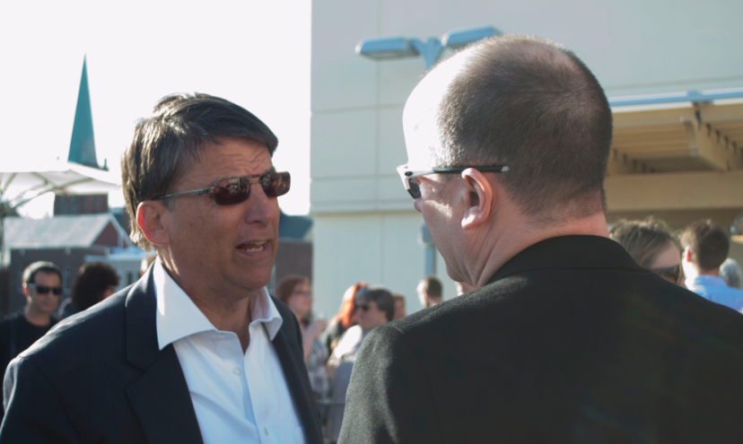 McCrory and Manheimer, in synch for Moogfest 2014