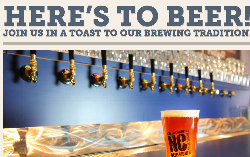 Brew-ED Beer News: North Carolina Beer Month events get underway