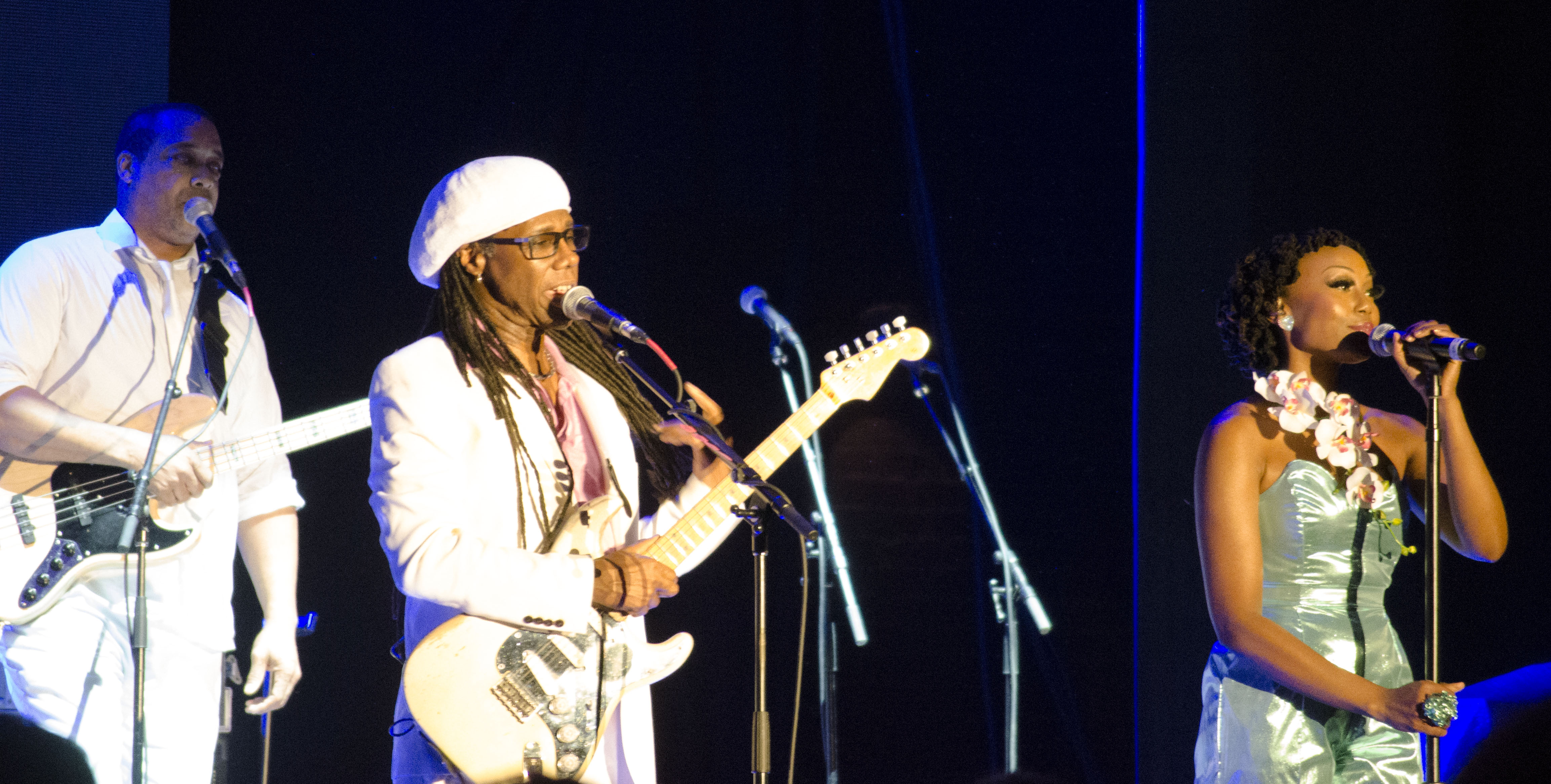 PHOTOS Nile Rodgers and CHIC at Moogfest 2014