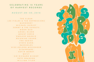 Harvest Records to celebrtate 10th anniversary w/ music festival feat. Lee Fields, Mudhoney, Angel Olsen, more