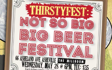 WIN TICKETS To the Not So Big BIG Beer Festival on Wednesday in Asheville