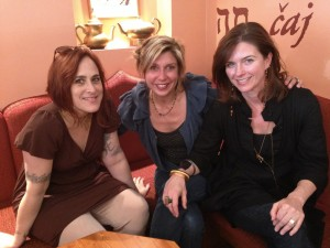 From left: Kitty Love, Franzi Charen and Jennifer Pickering.