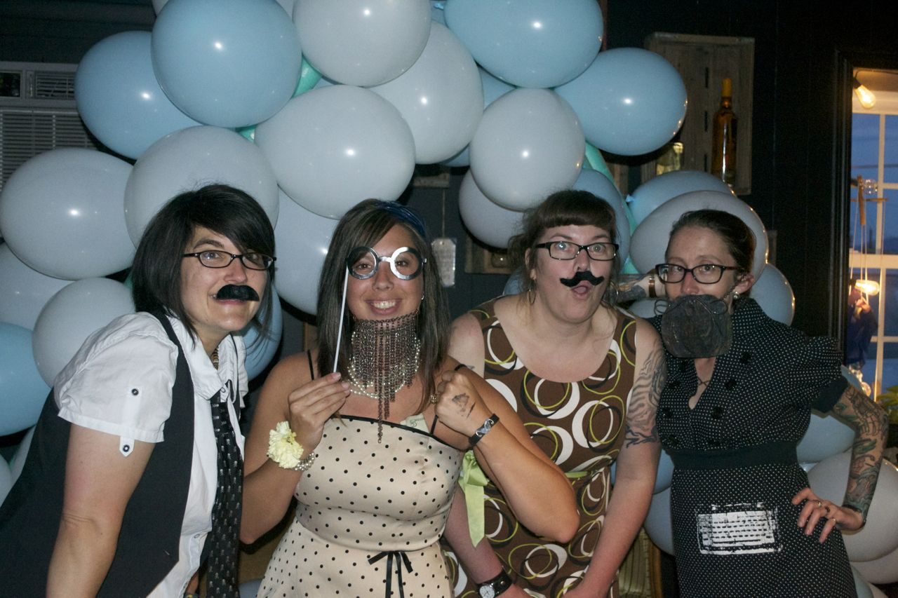 PHOTOS The Beer City Beard & Mustache Club's first Beard Prom at The Odditorium in West Asheville