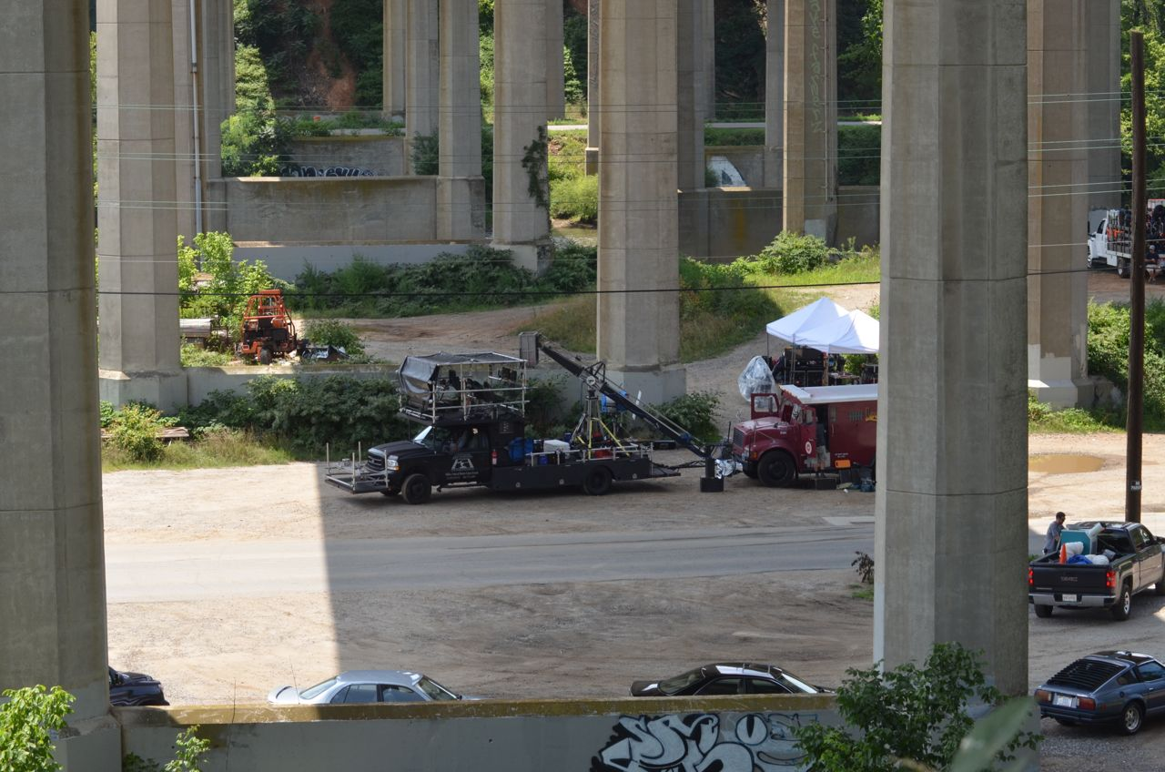 PHOTOS Day 2 of filming movie starring Kristen Wiig, Zach Galifianakis, Owen Wilson in downtown Asheville