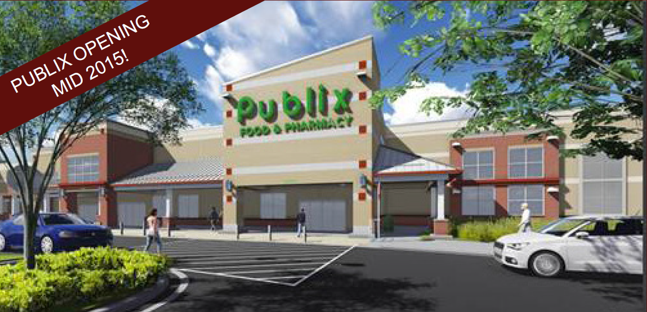 First look at rendering of new Publix grocery store in Asheville