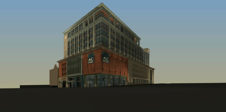 Asheville Downtown Commission approves design of new downtown AC Hotel by McKibbon