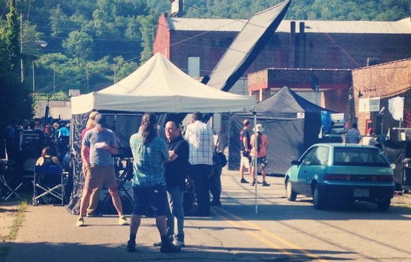 Small Western North Carolina towns in spotlight during first week of filming on Galifianakis movie