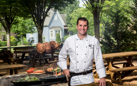 Chef Adam Hayes, formerly of Red Stag Grill in Asheville, wins Food Network's 'Cutthroat Kitchen'