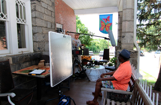 'Buskin' Blues,' a documentary about Asheville street musicians, coming together