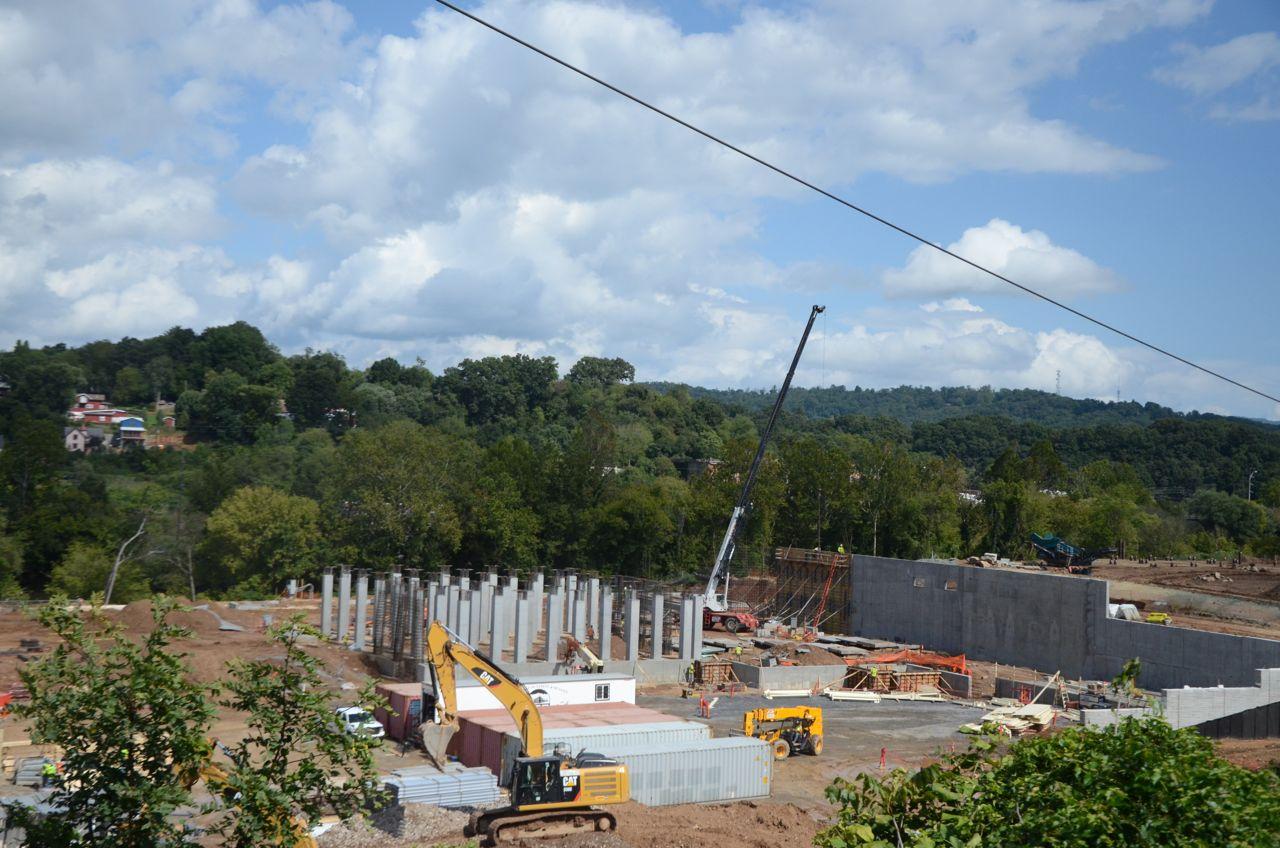 PHOTOS New Belgium Brewing construction site, September 2014