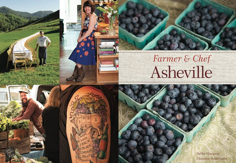 Farmer and Chef Asheville cookbook features more than 200 recipes from local farms, restaurants