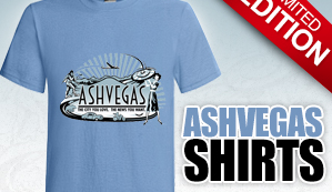 Ashvegas T-shirts now for sale