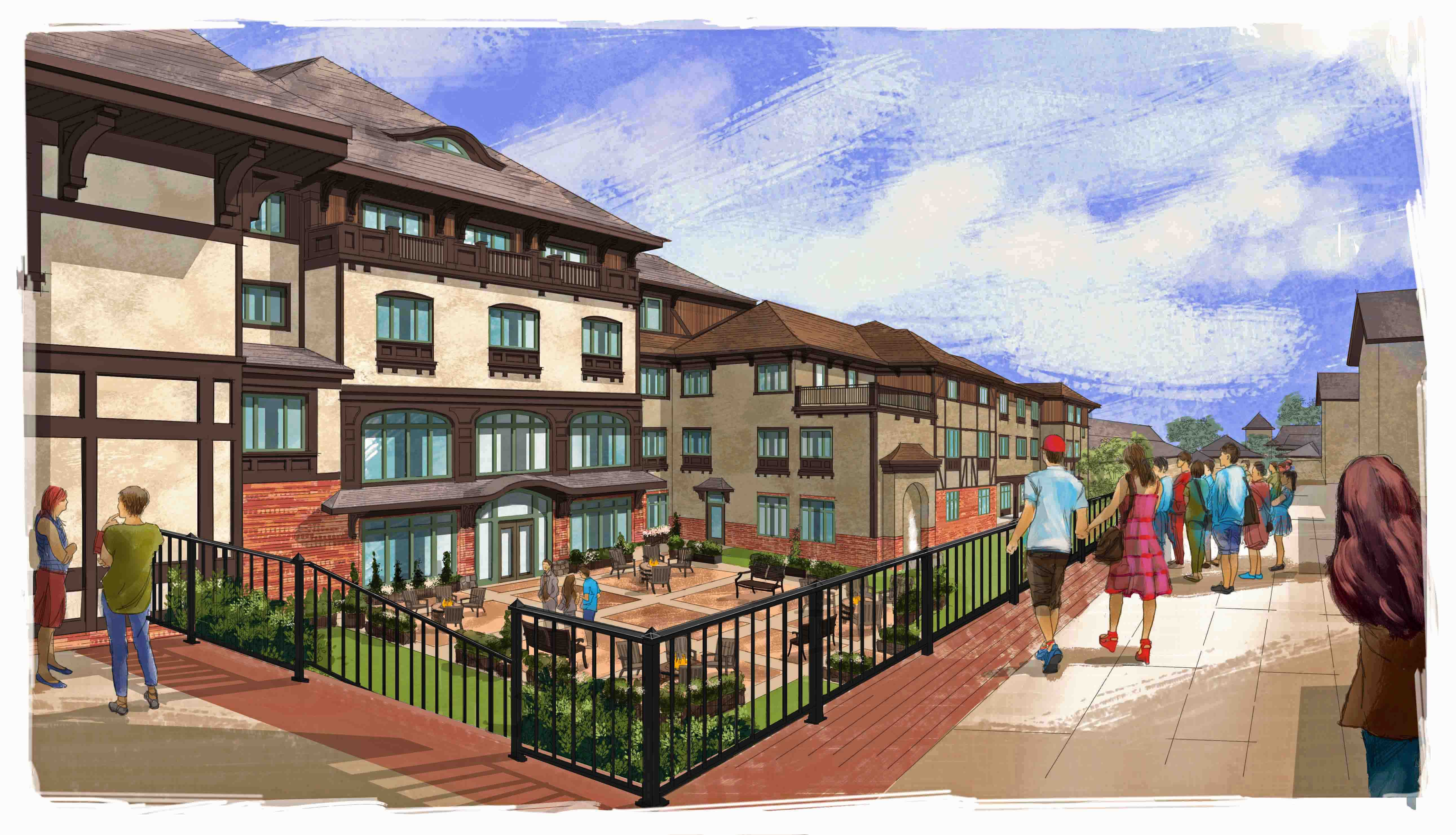 Biltmore Estate confirms construction of second hotel, set to open November 2015
