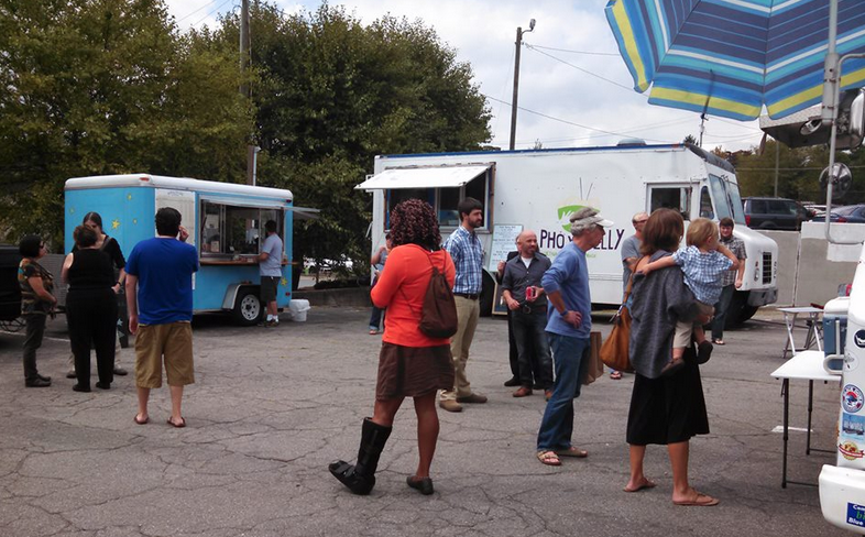 Asheville's first food truck lot rebranded, ready for new amenities